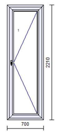 Okno A70 IDEAL